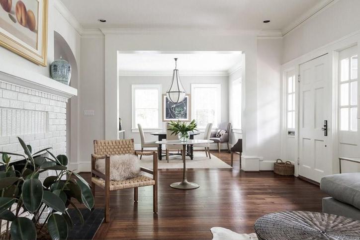 elegant living room interior